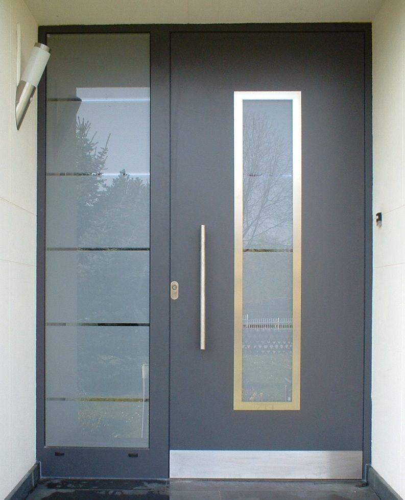 puertas de entrada de aluminio cecal 2009