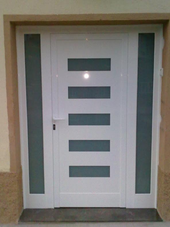 Cecal 2009 puerta de entrada serie moderna - Puertas de aluminio de exterior ...